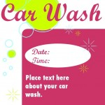 Car Wash Flyer Template screenshot
