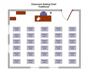 Classroom Seating Chart screenshot