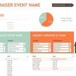 Screenshot of the Fundraiser Template