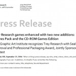 Screenshot of the Press Release Template