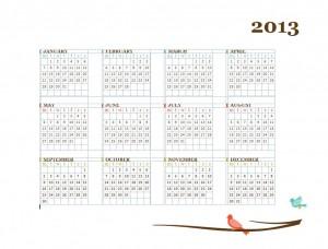 Printable Calendar Template screenshot
