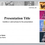 Screenshot of the Student PowerPoint Presentation