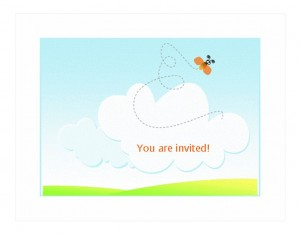 BBQ Invitation Template photo