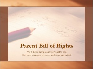 The Bill of Rights Template