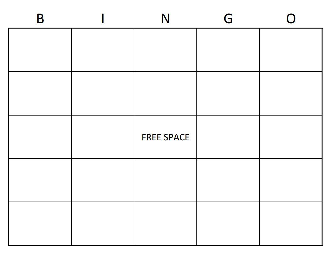 Bingo Card Template  Bingo Card Creator » Template Haven Pertaining To Blank Bingo Card Template Microsoft Word