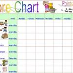 Chore Chart Template