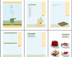Screenshot Of The Cookbook Template