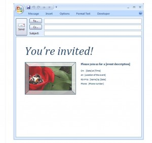 email party invitation template email party invitation templates