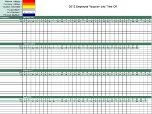 Employee Vacation Tracker