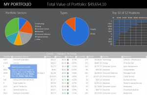 Financial Portfolio Template Personal Financial Portfolio