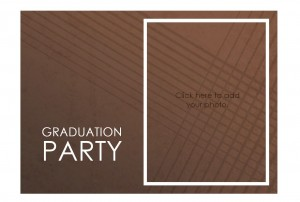 Screenshot of the Graduation Party Invitation Templates