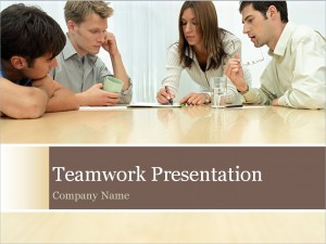 The Teamwork PowerPoint Template