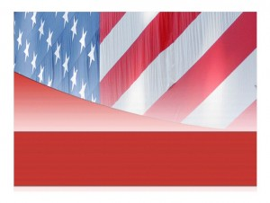 American Flag Template photo