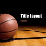 Basketball Presentation Template