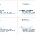 Engineer Business Cards