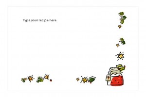 Free Holiday Recipe Cards