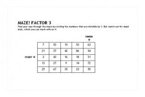 Math Maze Games