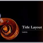 Free Music Score Template