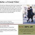 Free Refer a Friend Coupon template!