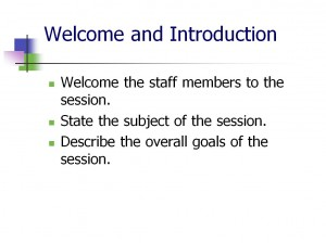 Screenshot of the Staff Training Plan Template