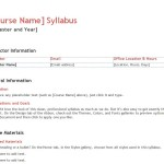 Free Teacher Syllabus Template