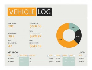 Free Vehicle Log Book
