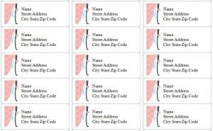 Wedding Address Labels Wedding Address Labels Microsoft Word