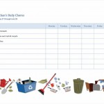 Free Household Chores Checklist