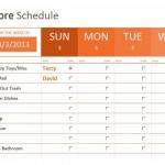 Weekly Chore Checklist