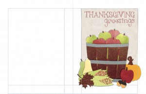 Free Thanksgiving Card Templates