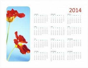 Free 2014 Photo Calendar
