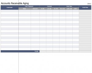 Accounts Receivable Aging Workbook Free