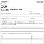 HIPAA Privacy Form free