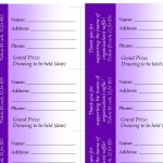 avery event ticket template - avery raffle ticket template raffle ticket template