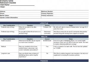 Microsoft Estate Planning Checklist