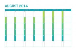 Printable 2017-18 School Calendar