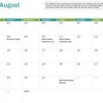 2017 Academic Calendar