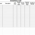 Inventory Control Forms