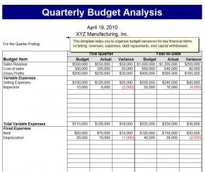 quarterly budget analysis template quarterly budget analysis template haven. Black Bedroom Furniture Sets. Home Design Ideas