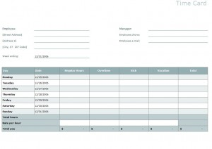 Free Timesheet Calculator