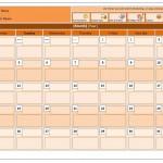 Free Class Calendar