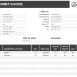 Proforma Invoice Template