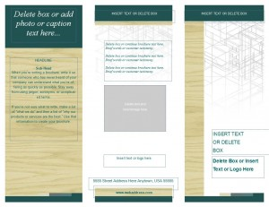 Free Publisher Brochure Template