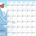 2015 Illustrated Seasonal Calendar