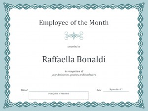 employee of the month certificate template free download - employee of the month certificate template template haven