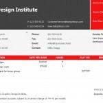 Web Service Invoice Template