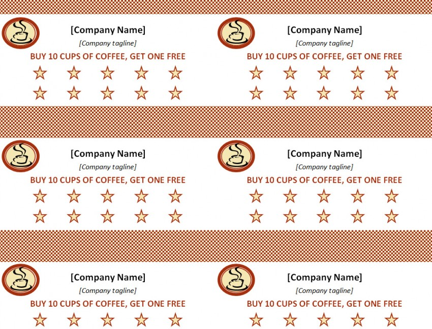 Punch card template template haven for Free punch card template