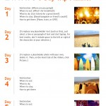 5-Day Trip Planner Template