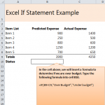 How to do an IF Statement in Excel