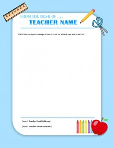Primary teacher letterhead k 5 template template haven why go with plain letterhead when you can have a fun colorful and age appropriate letterhead the primary teacher letterhead template spiritdancerdesigns Image collections